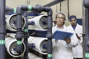 Osmosis inversa para aguas industriales