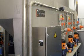 Dosificación CIP para limpieza quimica de planta de tratamiento de agua industrial