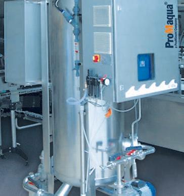 Planta de generación de ozono OVZ compacta
