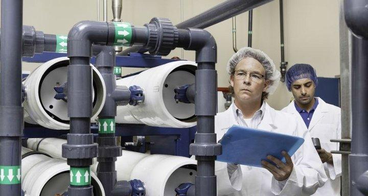 Mantenimiento de plantas de ósmosis inversa
