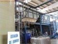 Depuradora de las aguas residuales de un lavadero de cisternas