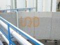 Homogeneizador y depositos de acumulación de una depuradora