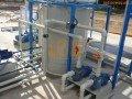Instalación hidraulica de una depuradora de aguas residuales