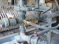 Extración de lodos en la depuradora de aguas residuales de una fabrica de pinturas